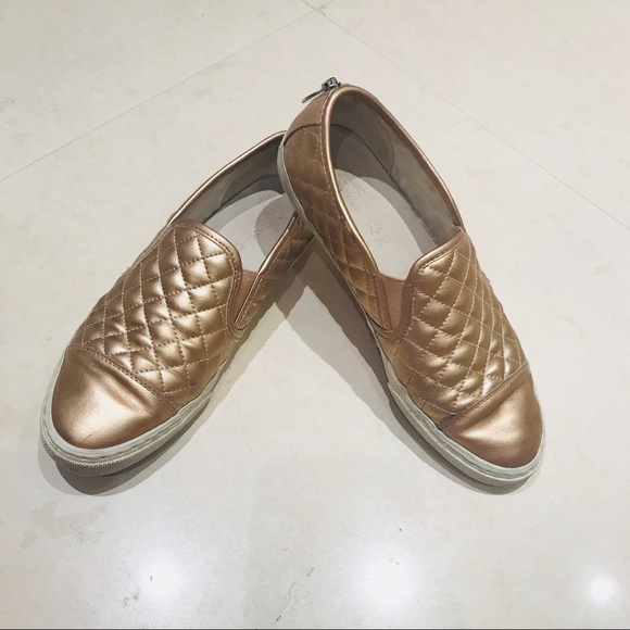 Geox Shoes   Geox Rose Gold Slip On